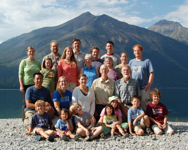 A family photo I took when I worked as a photographer in Glacier National Park, summer 2008.